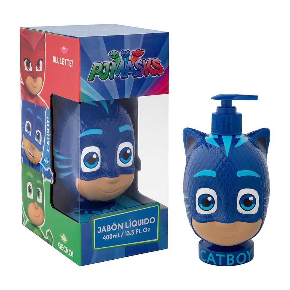 Caja 12 Unidades - Jabón PJ Masks Catboy 400 ml