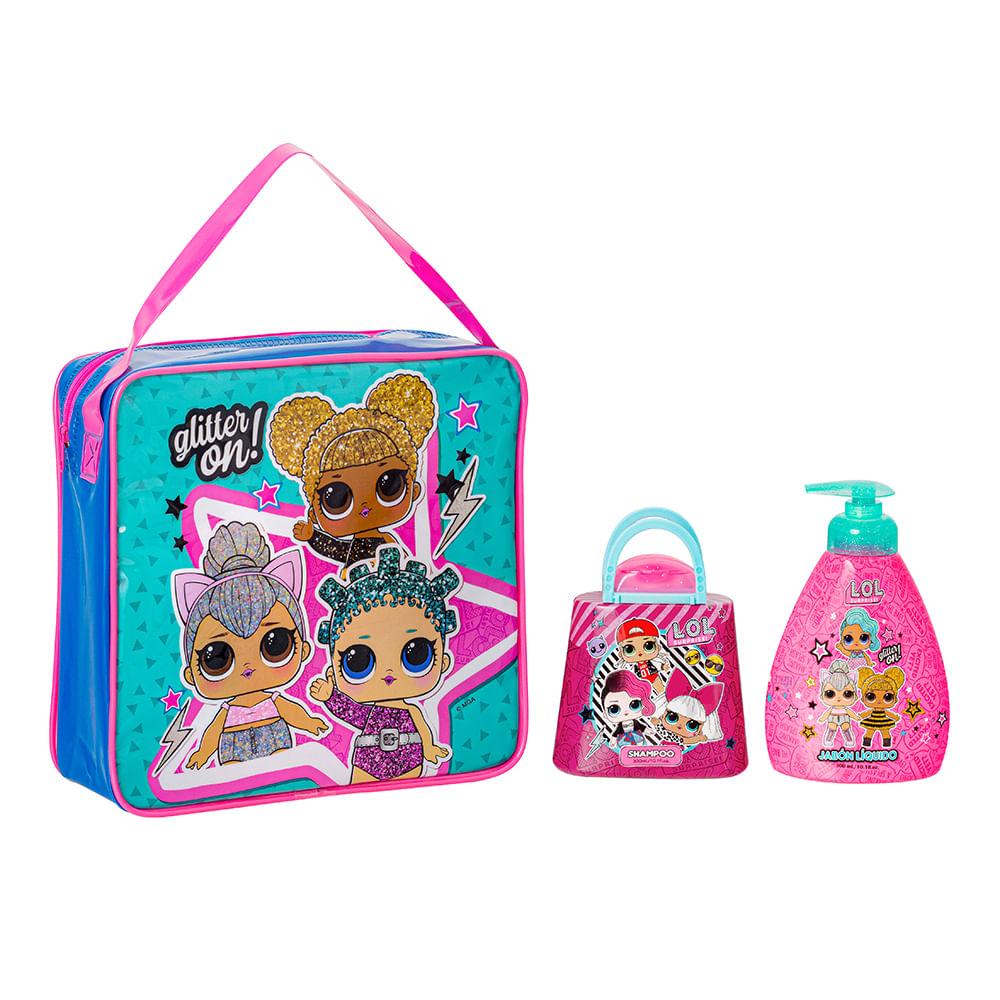 Caja 6 Unidades - Set Baño Shampoo + Jabón Líquido LOL