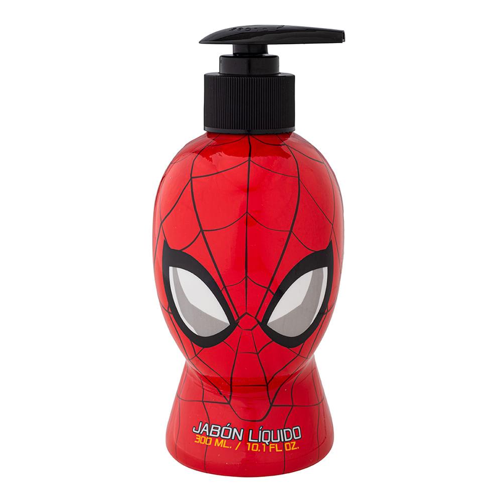 Caja 12 Unidades - Jabon Liquido Spiderman Comics 300 ml