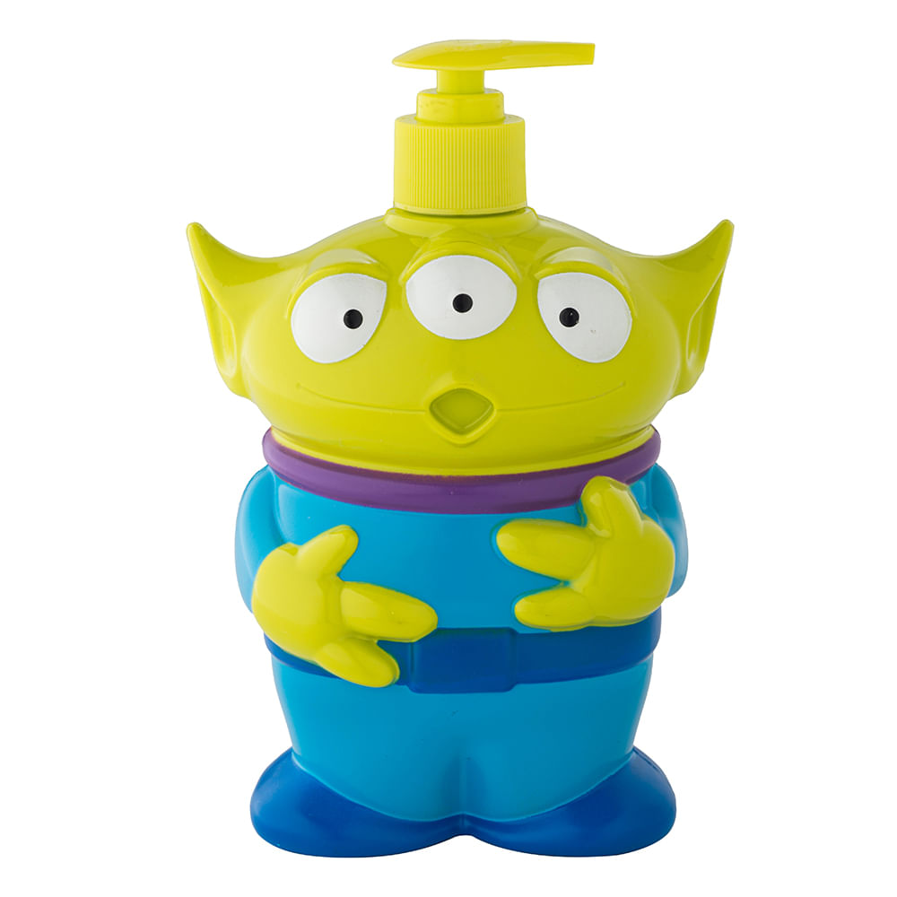 Caja 12 Unidades - Jabon Liquido 3D Alien Toy Story Disney 400 ml