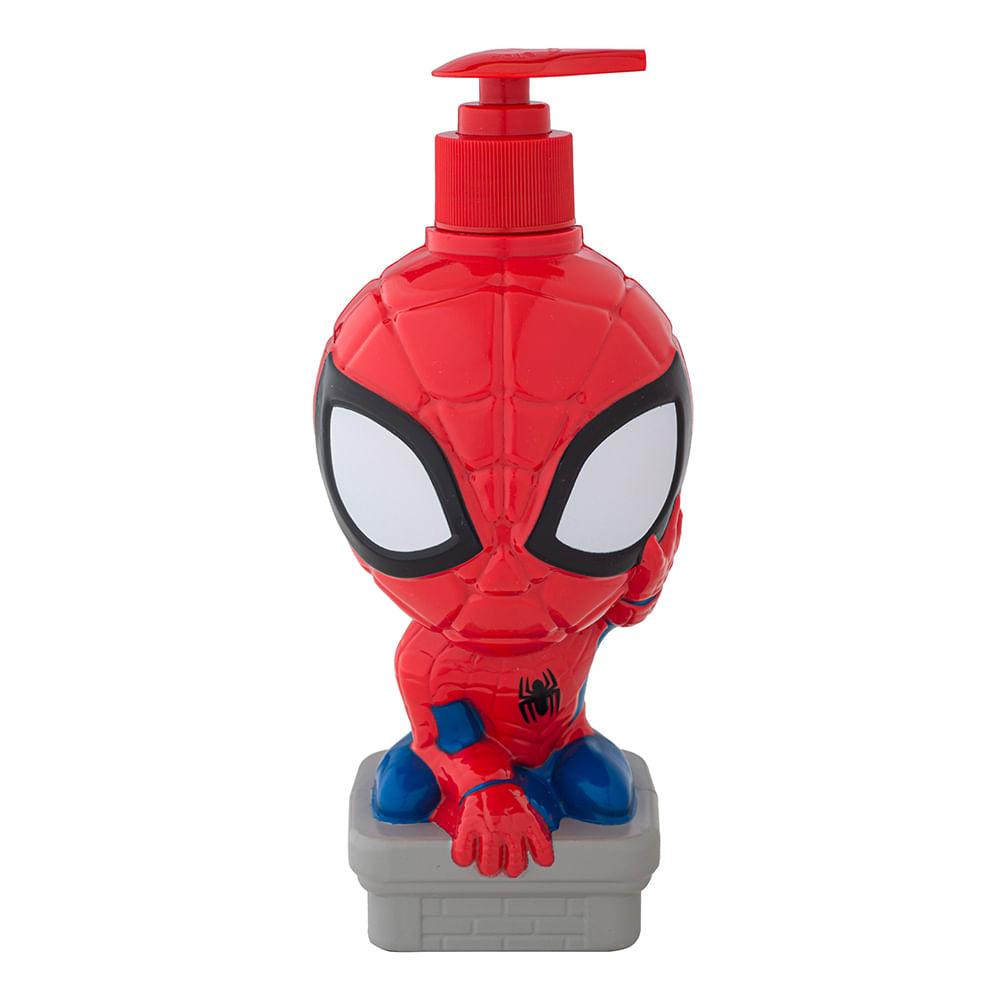 Caja 12 Unidades - Jabon Liquido 3D Comics Spiderman 400 ml