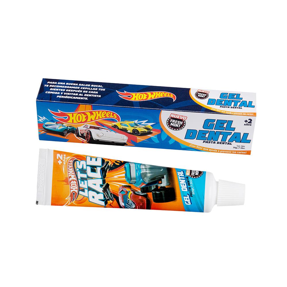 Caja 12 Unidades - Pasta De Dientes Niño Hotwheels y Paw Patrol 50 g