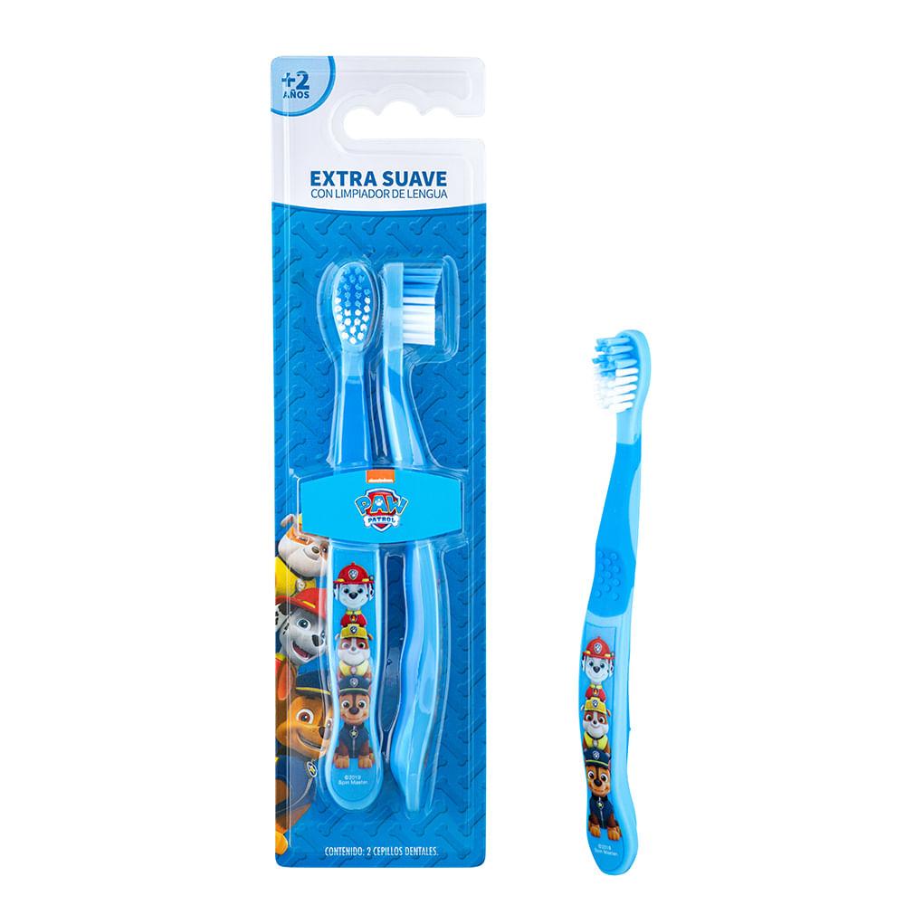 Caja 12 Unidades - Set 2 Cepillos Dental (Blister) Paw Patrol
