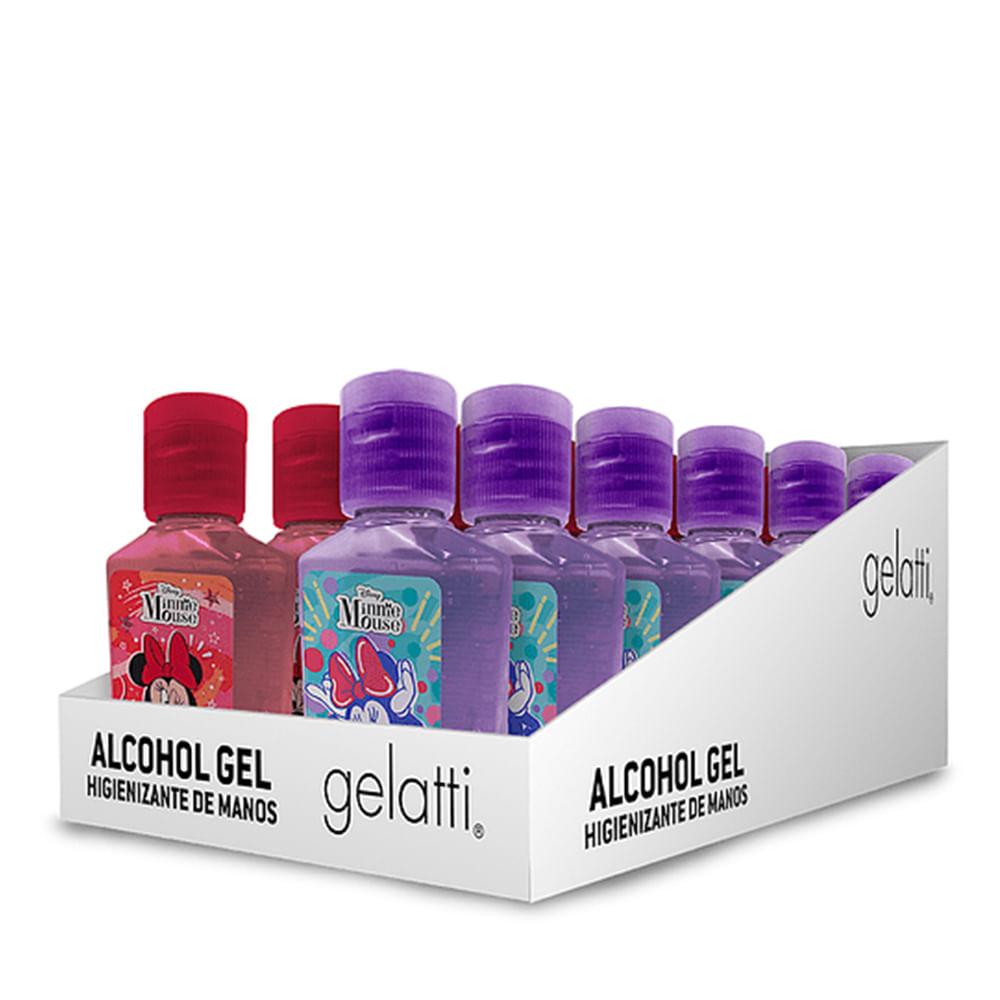 Caja 12 Unidades - Alcohol Gel Minnie Mouse 59 ml