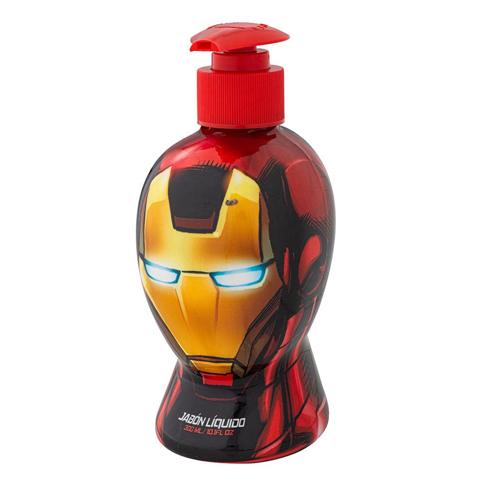 Caja 12 Unidades - Jabon Liquido Avengers Ironman 300 ml