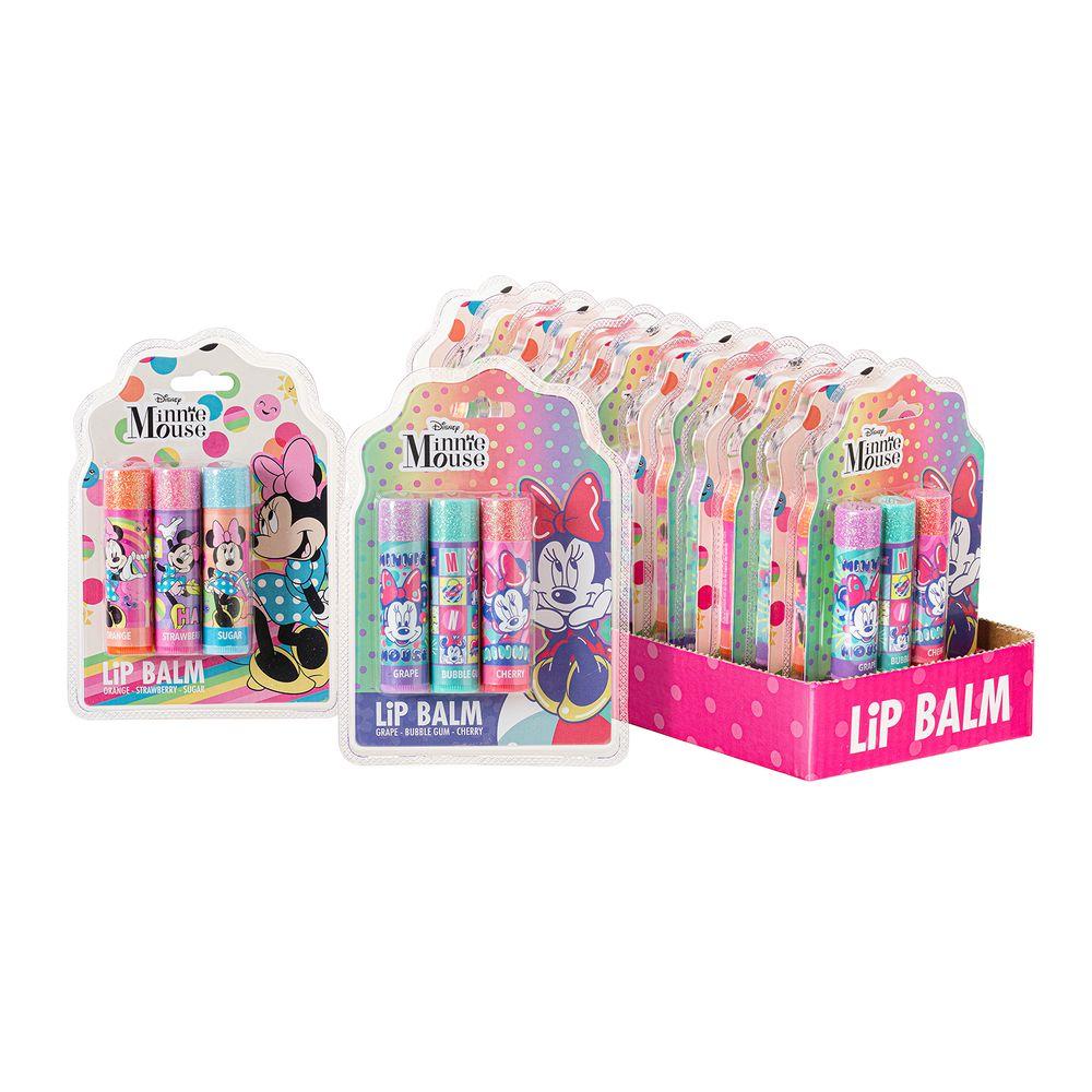 Caja 12 Unidades - Lip Balm Minnie X 3